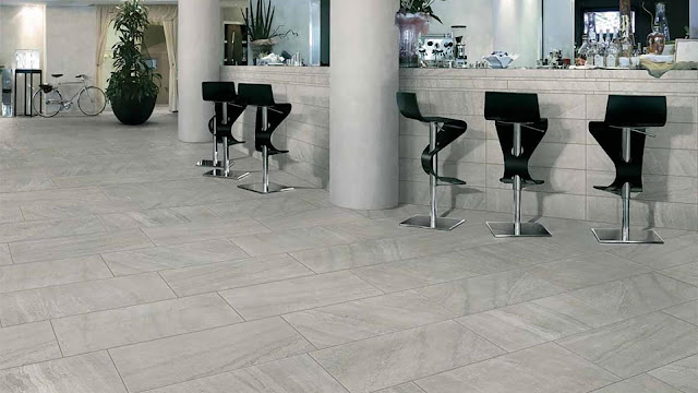 Tiles design for home flooring with Glow collection - A porcelainized stoneware tile