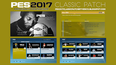 PES 2017 Classic Patch by Vieri32