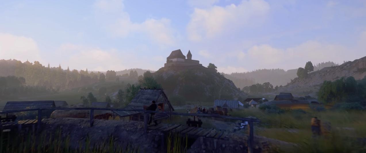Kingdom Come Deliverance muestra sus espectaculares paisajes, castillos y pueblos