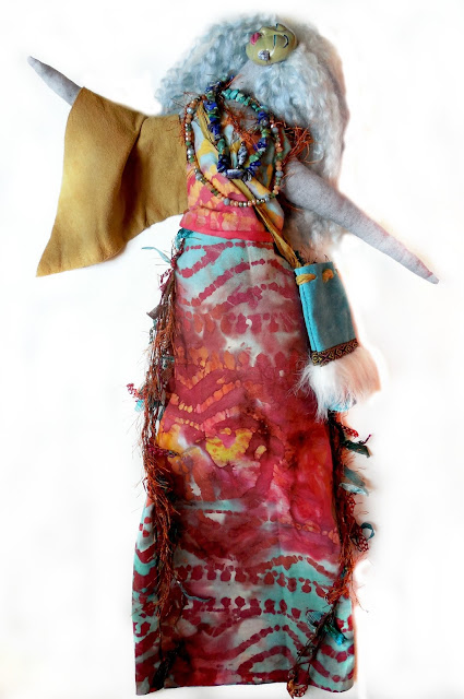 OOAK Art Doll Sage Woman Goddess Art