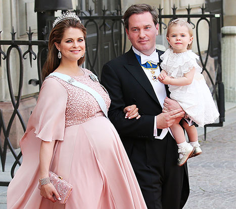 Sweden's Royal Family has welcomed its second new member in as many days after Princess Madeleine gave birth to a son this morning.