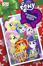 MLP Equestria Girls Holiday Special Comics
