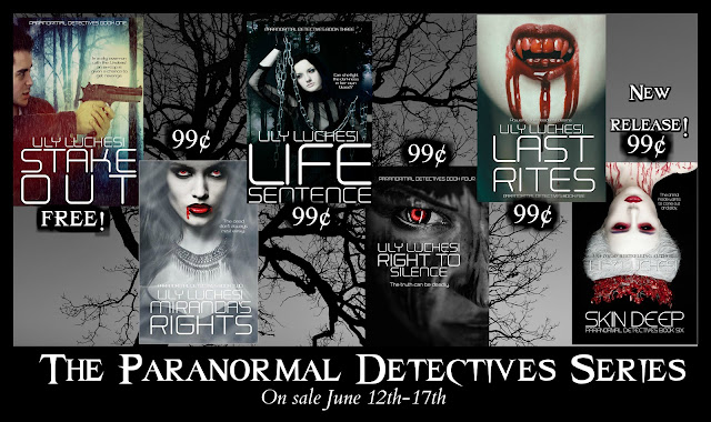 PARANORMAL DETECTIVES SERIES by Lily Luchesi on Amazon