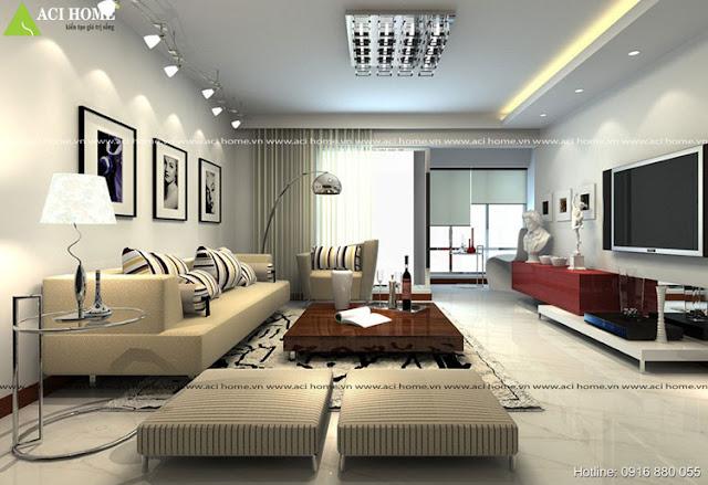 Phong khách nội thất hiện đại