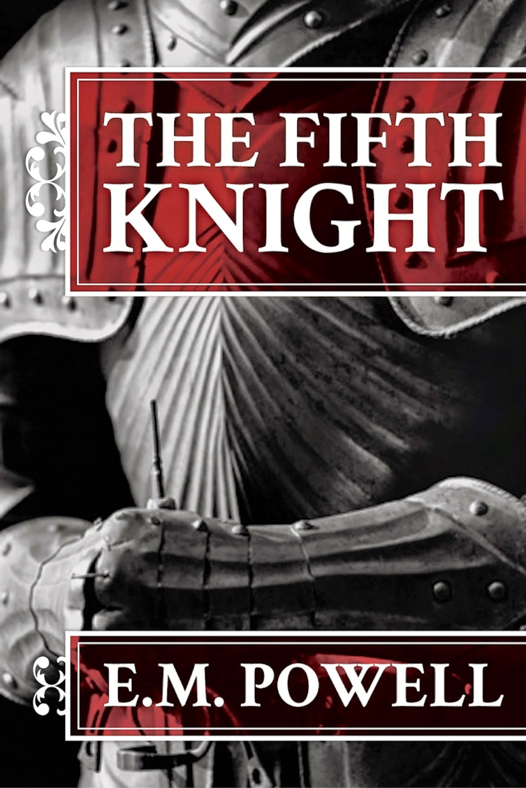 http://www.amazon.co.uk/Fifth-Knight-E-M-Powell-ebook/dp/B00A017O0I/ref=sr_1_1?ie=UTF8&qid=1400485439&sr=8-1&keywords=the+fifth+knight