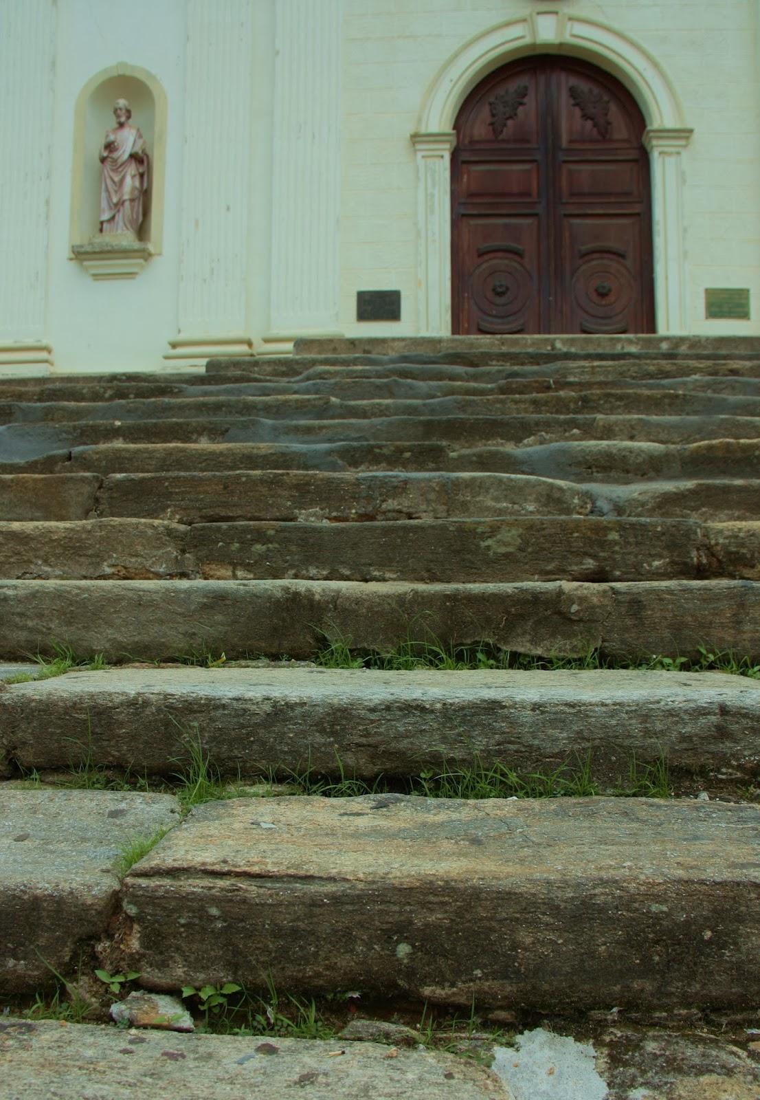 Igreja da Matriz no Centro Histórico de São Luiz do Paraitinga, antes da enchente de 2010.