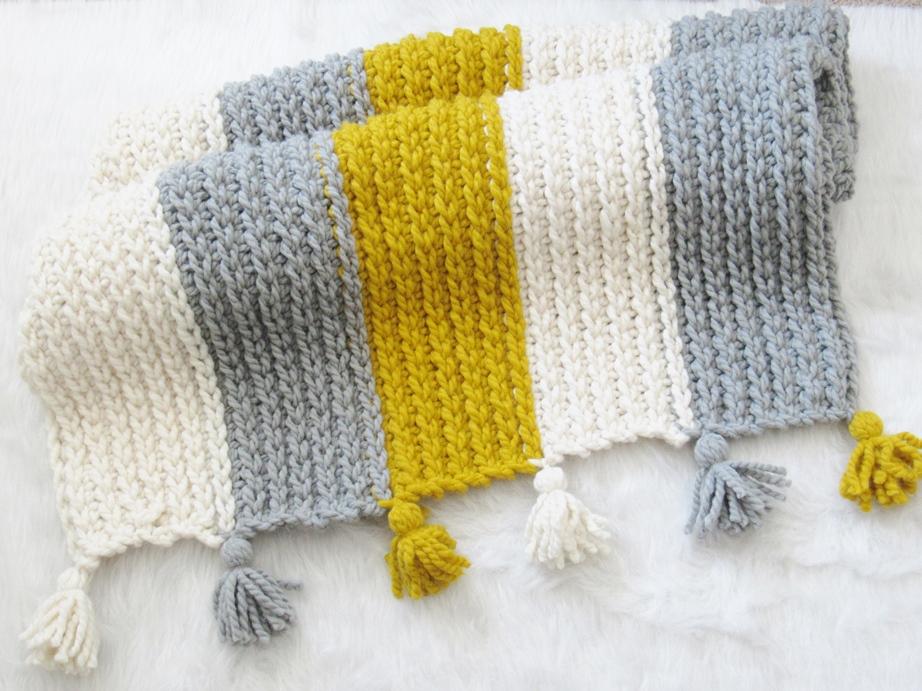 Free Knit-Look Chunky Afghan Crochet Pattern - Crochet Dreamz