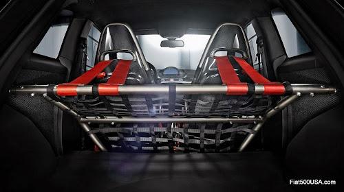 Abarth '695 biposto' rear seat delete