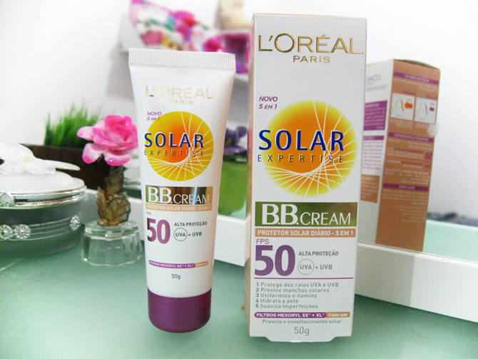 BB Cream Solar Expertise L'Oreal FPS50