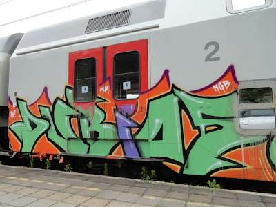 DUBIS KGB ISM SKF - GERMAN GRAFFITI