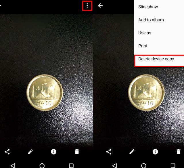 Cara Hapus Foto Dari Perangkat Anda Tapi Bukan Google Drive 1