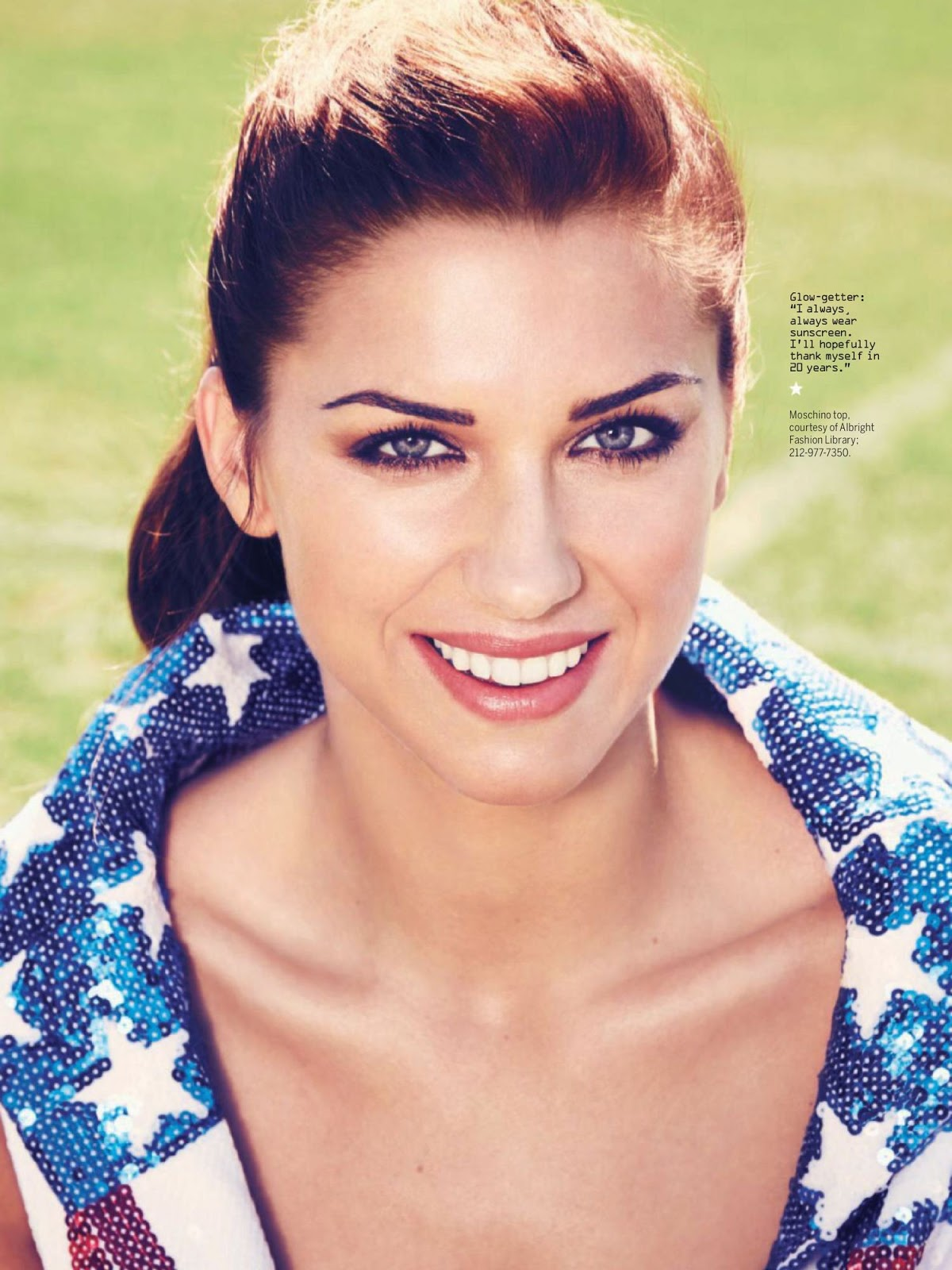 Alex Morgan – Heath Magazine June 2016