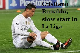 Cristiano Ronaldo, slow start in La Liga, but the Champions League is chasing records