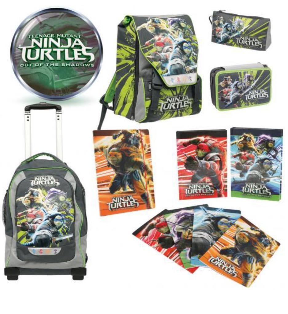 Zaini scuola tartarughe ninja ninja turtles prezzo 2016 for Prezzo tartarughe