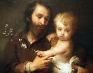 """Joseph and the Christ Child"" - Murilla 1670-75"