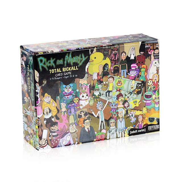 37% OFF Rick and MortyTotal Rickall Cooperative Card Game Party Play Cards,limited offer $8.83