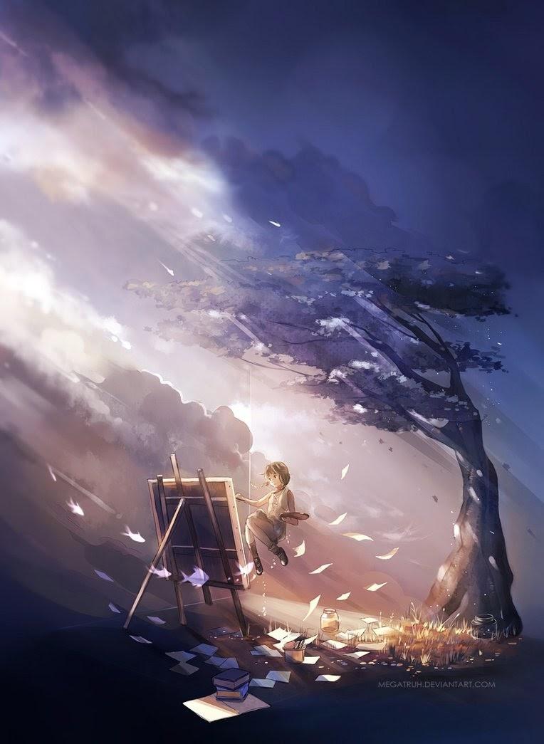 01-The-Island-Niken-Anindita-megatruh-Surreal-and-Fantasy-Meet-in-Digital-Art-www-designstack-co