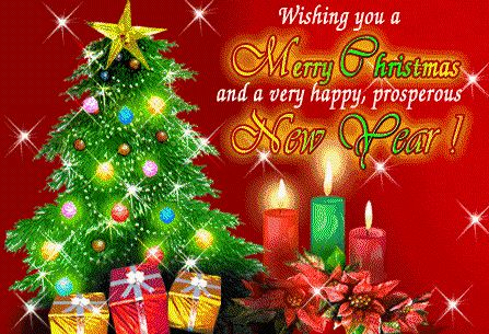 Merry Christmas and Happy New Year Wishes Greetings Pictures
