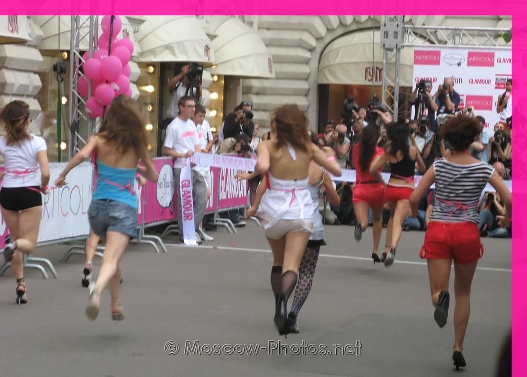 Glamour Stiletto Run - 2008, Moscow