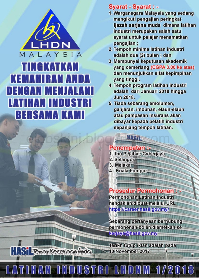 Latihan Industri LHDN
