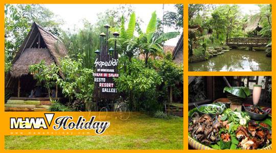 Sapu Lidi Resort Lembang - Sensasi Kenyamanan Wisata Kuliner Sunda