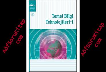 aöf, aöf ilahiyat, aöf Temel Bilgi Teknolojileri 1  kitabı,Temel Bilgi Teknolojileri 1  indir, Temel Bilgi Teknolojileri 1  kitabı pdf indir, Aöf ders kitapları, Temel Bilgi Teknolojileri 1  öğrenmek, Temel Bilgi Teknolojileri 1  nasıl öğrenilir, Temel Bilgi Teknolojileri 1  yardımcı kitabı, Temel Bilgi Teknolojileri 1  dersleri, ilahiyat Temel Bilgi Teknolojileri 1  dersi ,Temel Bilgi Teknolojileri 1