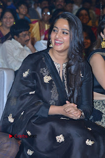 Actress Anushka Anushka Shetty Stills in Black Salwar Kameez at Om Namo Venkatesaya Audio Launch Event  0036.JPG