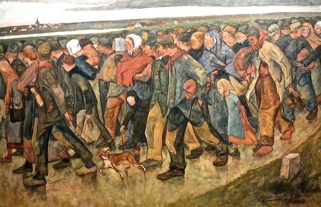 Musée royaux des beaux-arts de Bruxelles Eugène Laermans : Les migrants