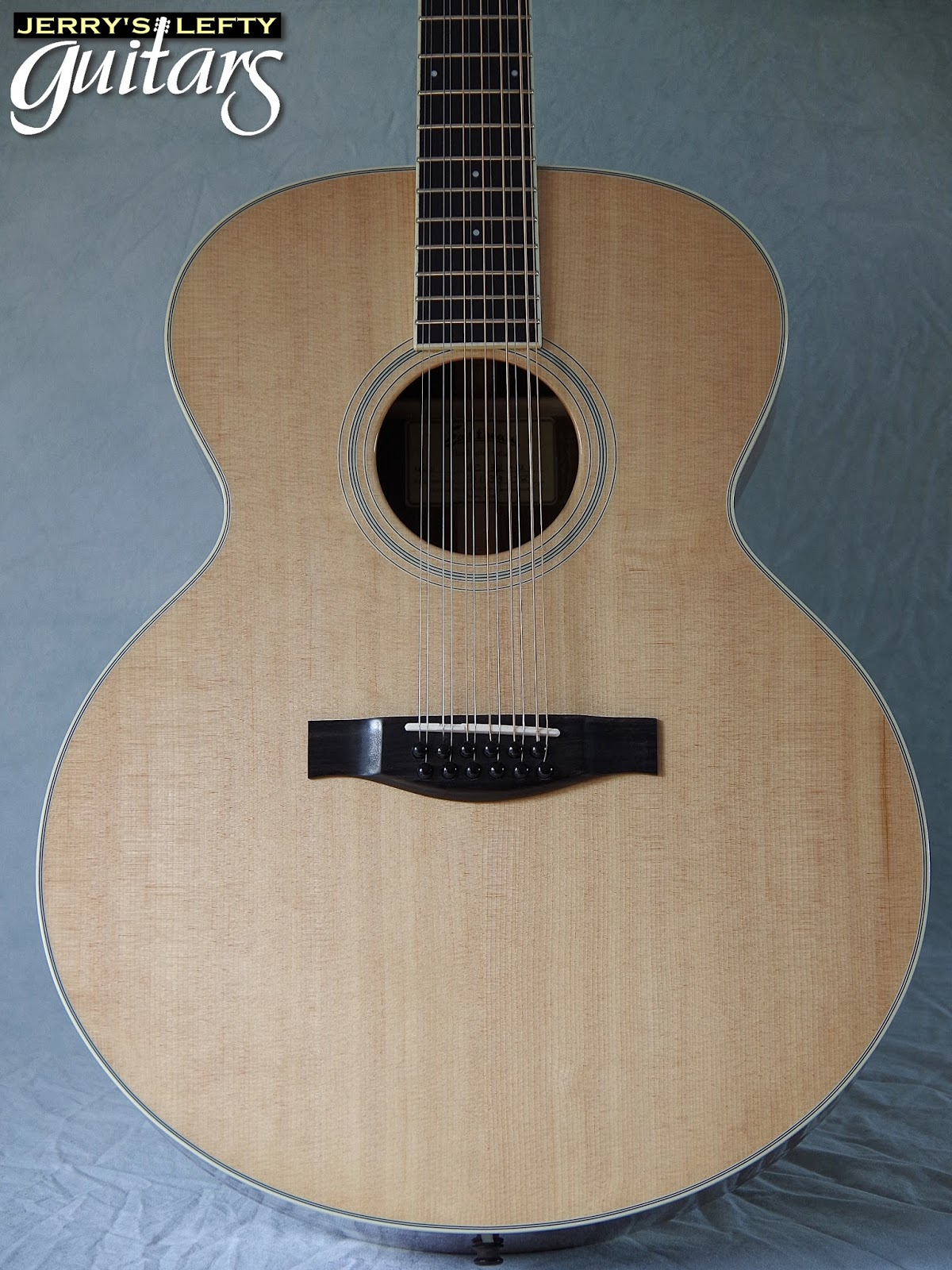 jerry 39 s lefty guitars newest guitar arrivals updated weekly eastman ac330 12 string left. Black Bedroom Furniture Sets. Home Design Ideas