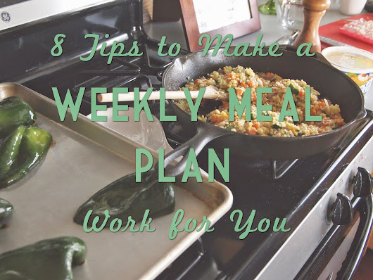 How to Make Your Menu Plan Work For You