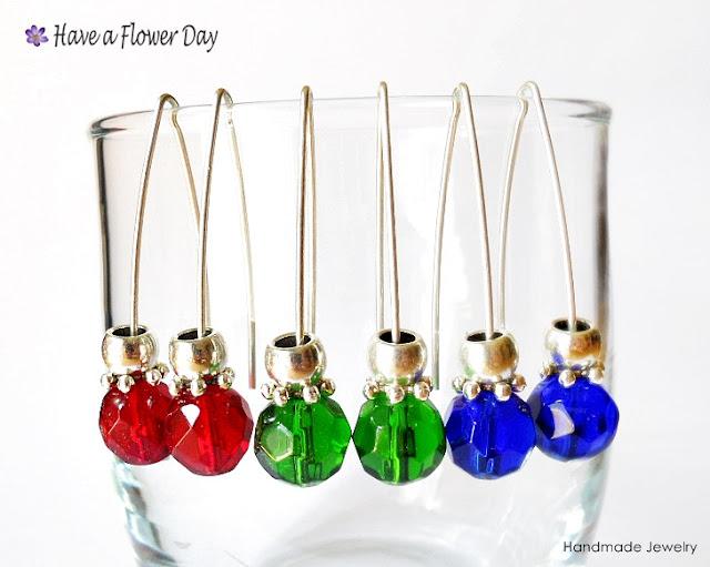LUAM. Pendientes con cristal · Crystal earrings