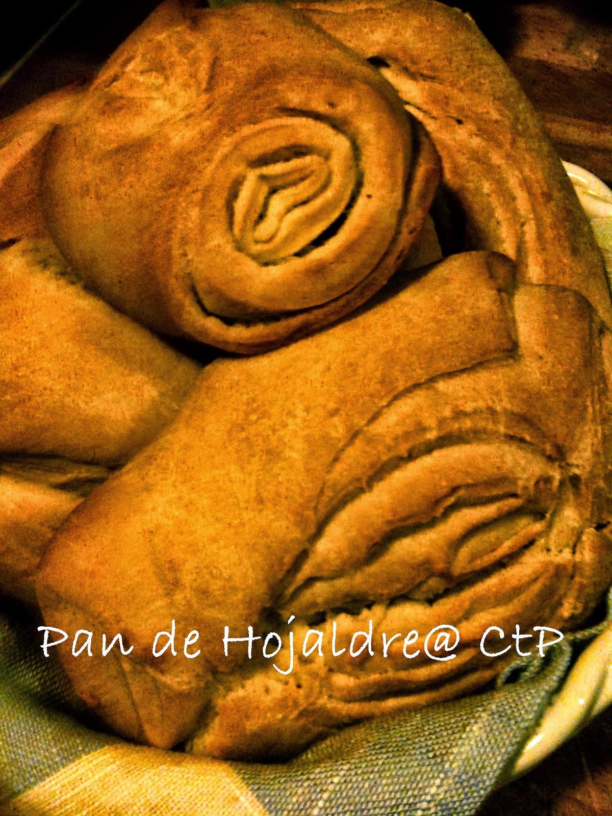 Pan de Hojaldre  Pane Sfogliato ricetta sorelle simili fatto da alessandra ruggeri