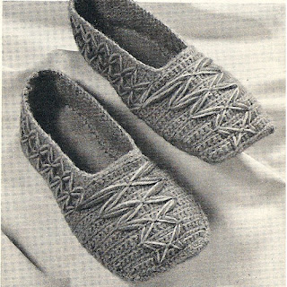 Dutch Crocheted Slippers Pattern