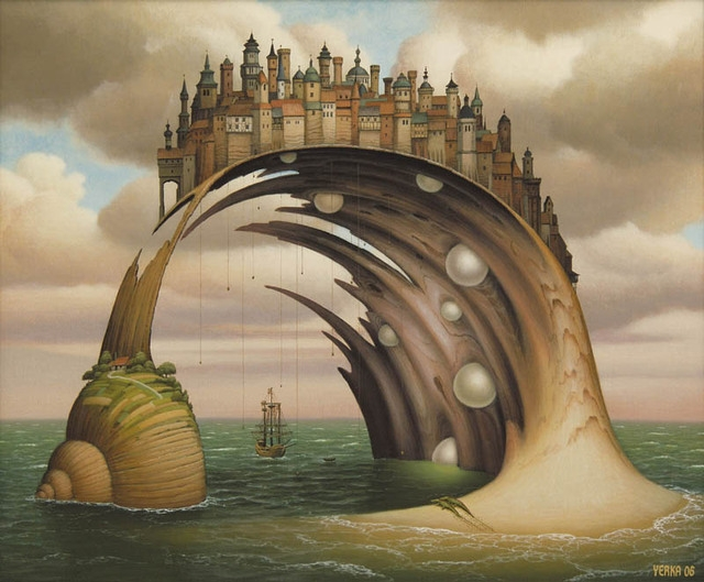 09-Untitled-Jacek-Yerka-Surrealism-in-Dreamlike-Oil-Paintings-www-designstack-co