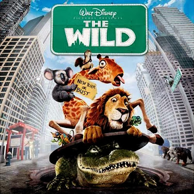 Poster Of The Wild (2006) In Hindi English Dual Audio 300MB Compressed Small Size Pc Movie Free Download Only At worldfree4u.com