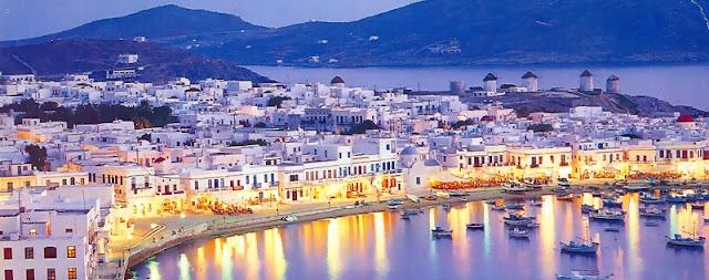 Passeios românticos em Mykonos, Grécia