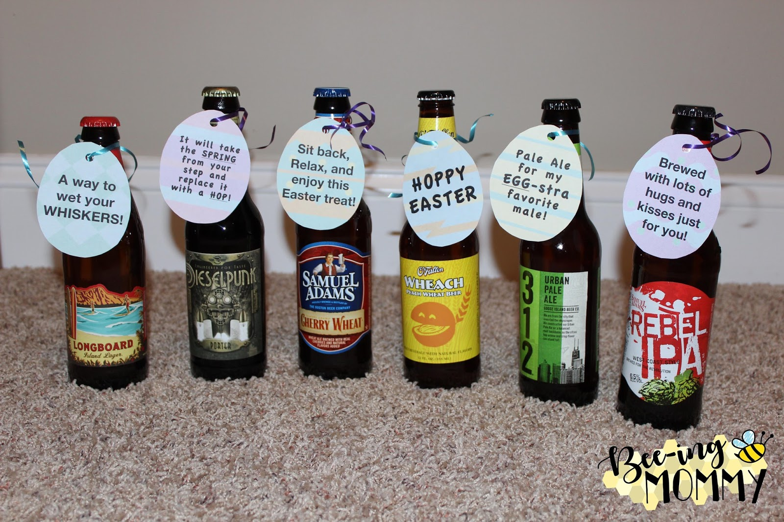 Bee ing mommy blog easter beer hunt man easter basket beer beer hunt easter gift for him easter negle Choice Image