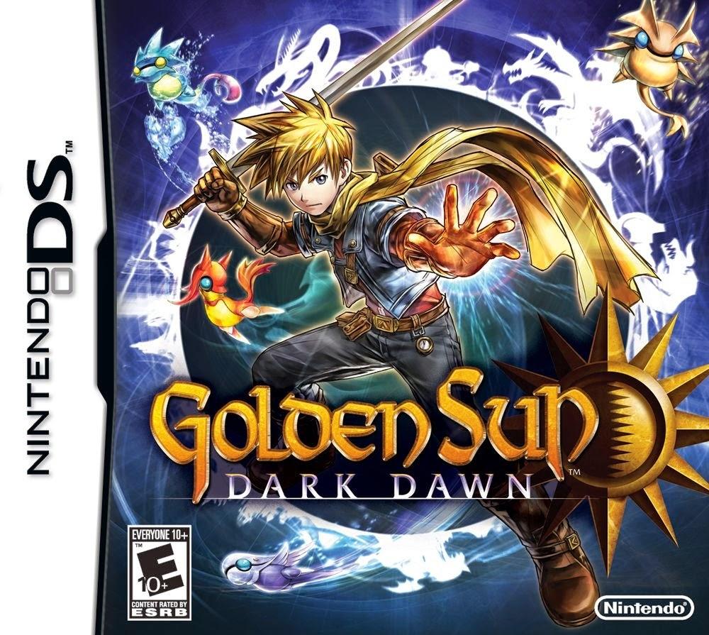 La Trilogia De Golden Sun Gba Y Nds Espanol