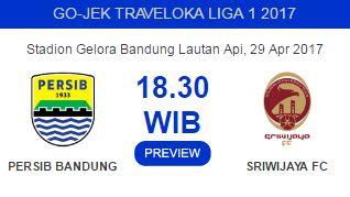 Susunan Pemain Persib Bandung Vs Sriwijaya FC