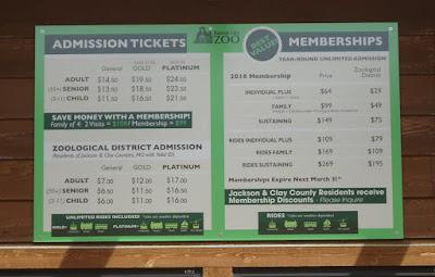 Kansas City Zoo Entrance Fee
