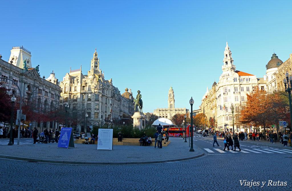 Praça da Liberdade, Oporto