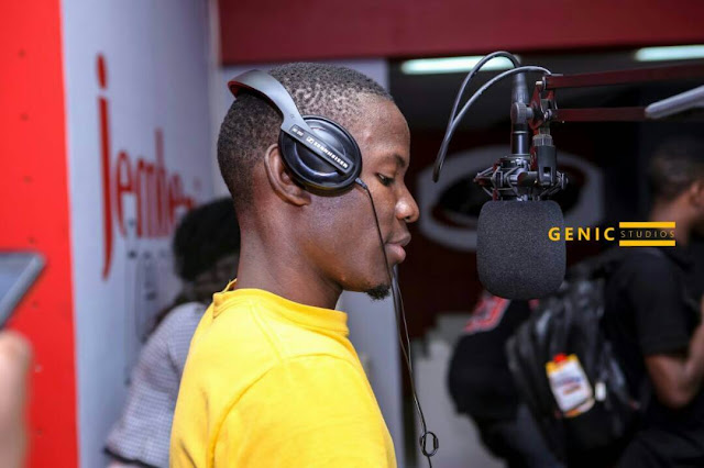 Jembe 93.7 fm's Radio Presenter Jay J| Photo| Courtesy Jay J