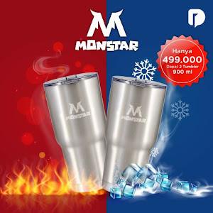Monstar Tumbler Set (Set of 2)