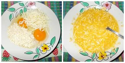 Receita de omelete light de aveia com mussarela