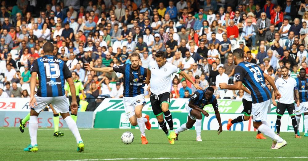 Cesena - Latina 2-2 7° giornata Serie B 16/17