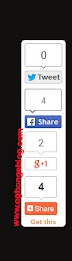 Floating Sharing Buttons / Bar for Blogger Blogs