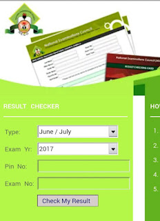 Check NECO 2017/2018 SSCE June/July Examination Results Online