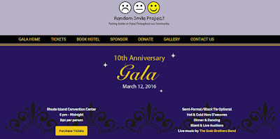 Random Smile Project Gala - March 12