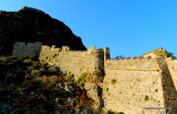 Muralhas de Monemvasia, Grécia