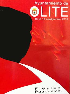 Cartel de fiestas de Olite 2012